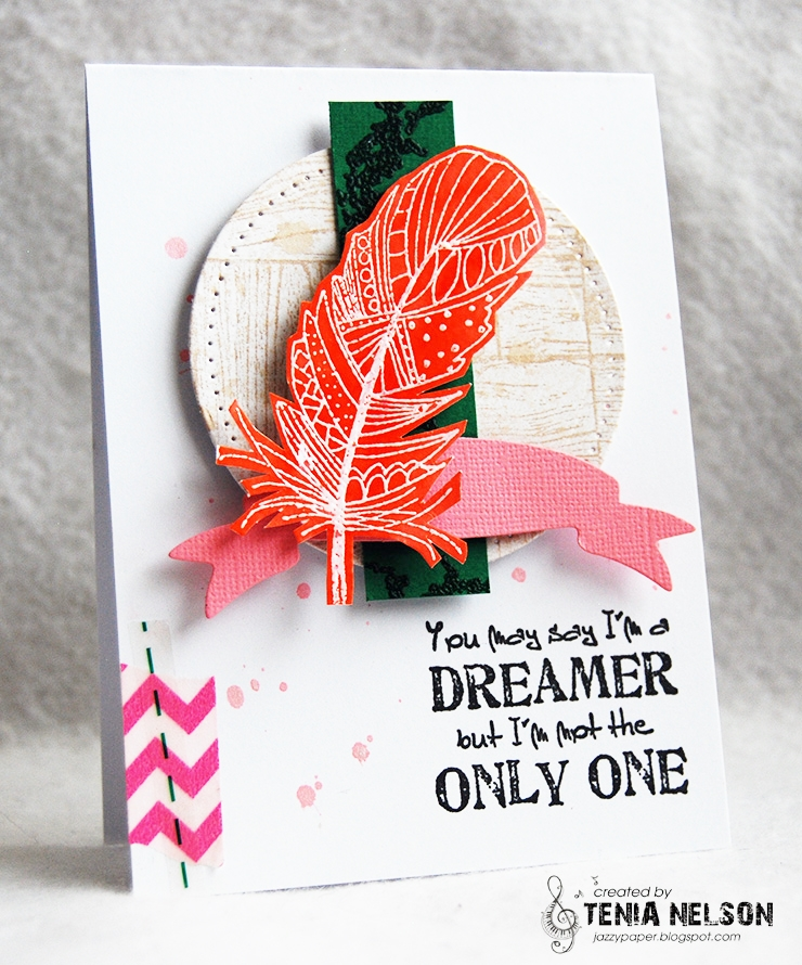 Magenta Art Stamp Sentiments