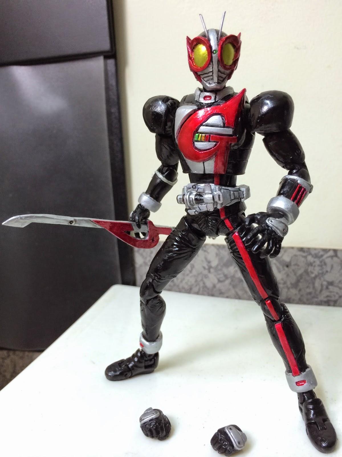 Kamen Rider World My Custom Shf Sacriledge Kamen