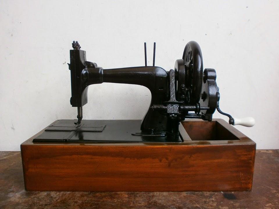 antikpisan mesin jahit antik 'frister and rossmann