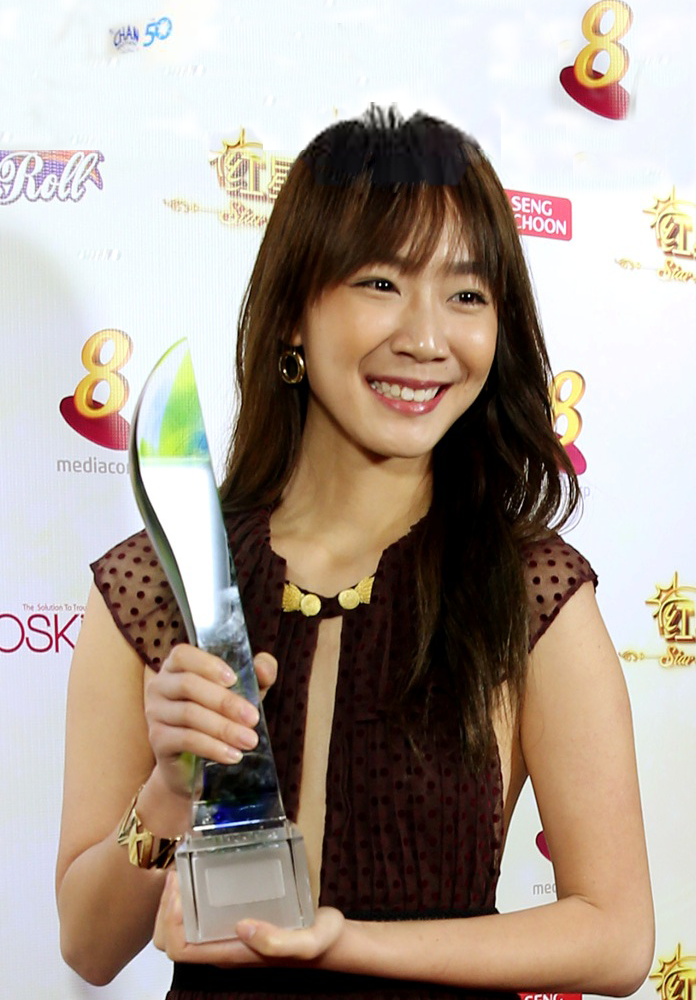 Julie Tan, 23, taking a six-month break from acting after winning a clutch of awards including the Rocket Award and Top 10 Most Popular Female Artiste Award.