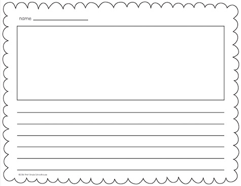 Printable Stationery, Border Pages & Blank Letter Sheets