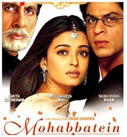Lagu India Mohabbatein OST