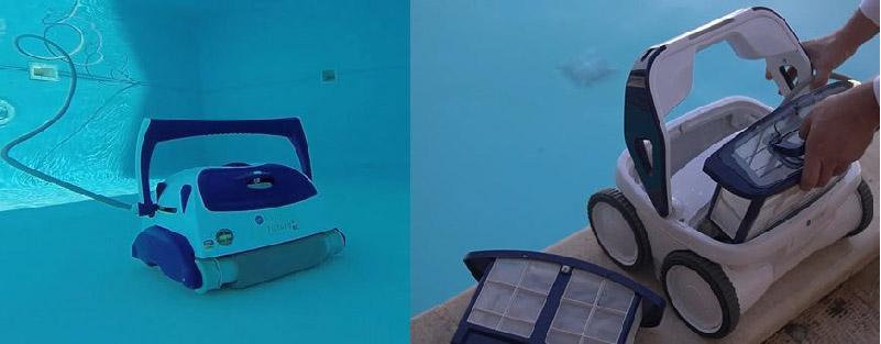 robot per pulizia piscine fuori terra