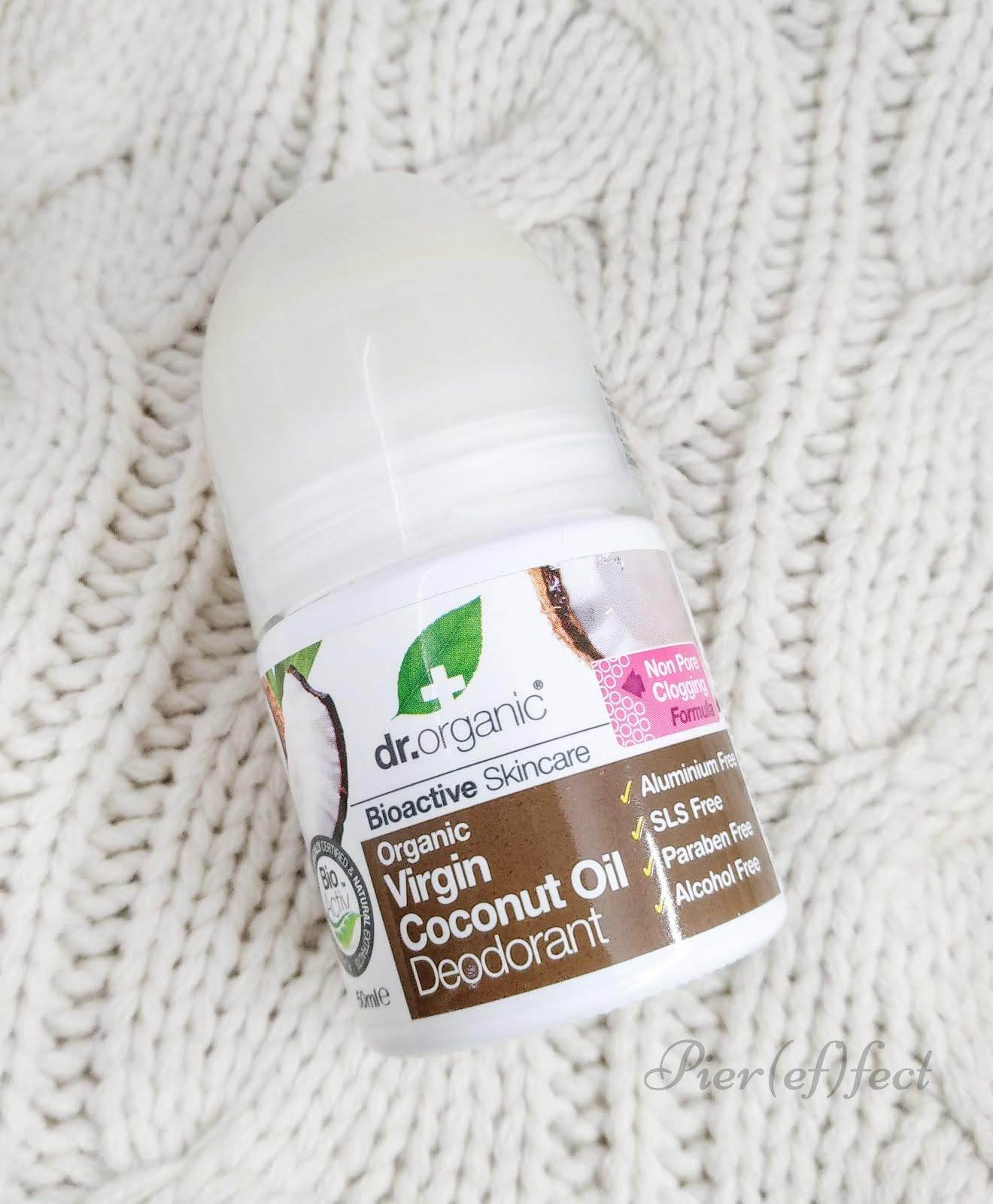Organic Virgin Coconut Oil Deodorant Dr Organic