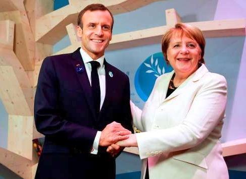 منتدى باريس للسلام: ما يجب تذكره من خطابات ماكرون ، ميركل