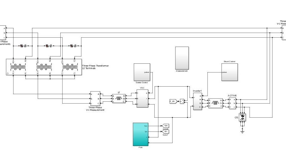 Matlab Electrical Ieee 917207560923 Design And Performance Analysis Of Three Phase Solar Pv Integrated Upqc