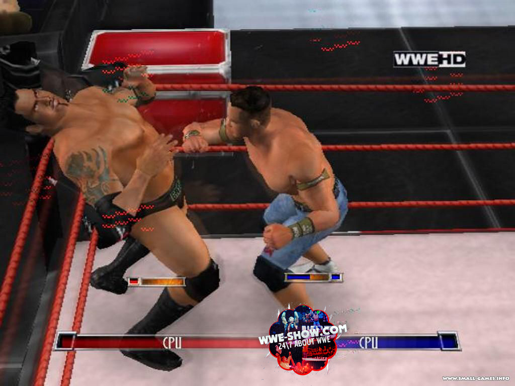 WWE Smackdown VS Raw 2007: PC Game Free Download Highly