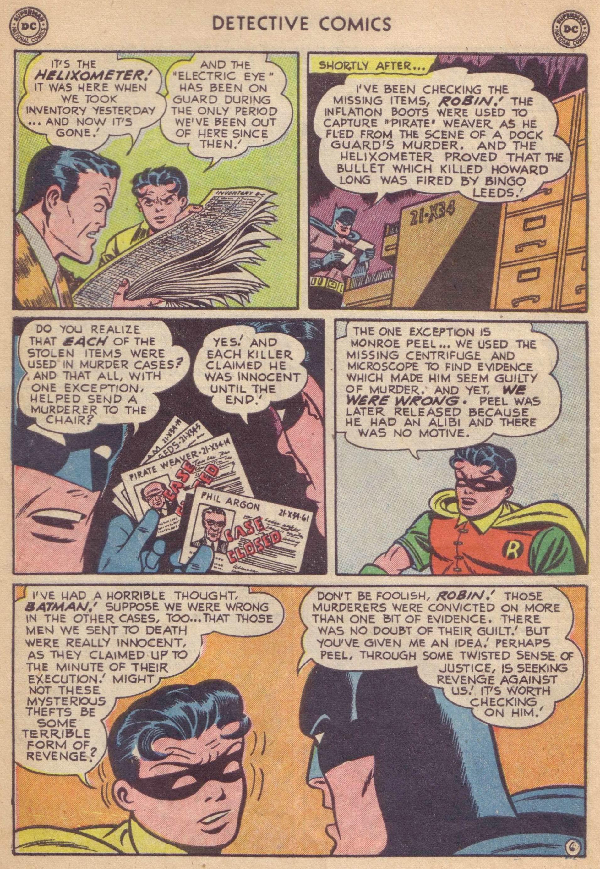 Read online Detective Comics (1937) comic -  Issue #177 - 8