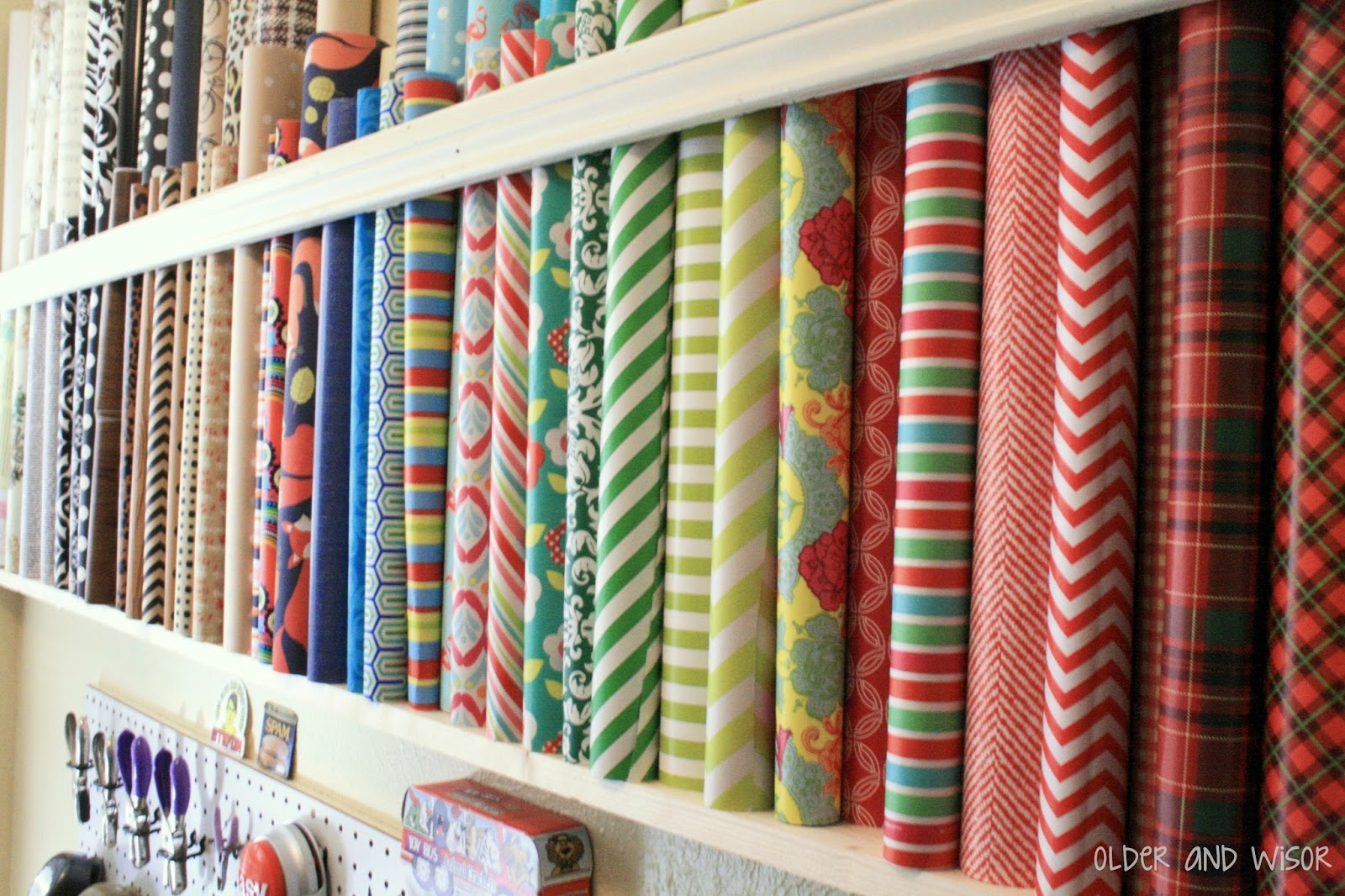Paper Shop Older And Wisor How To Store Wrapping Paper