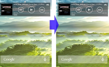 Cara Membuat Status Bar Transparan di Android Tersayang