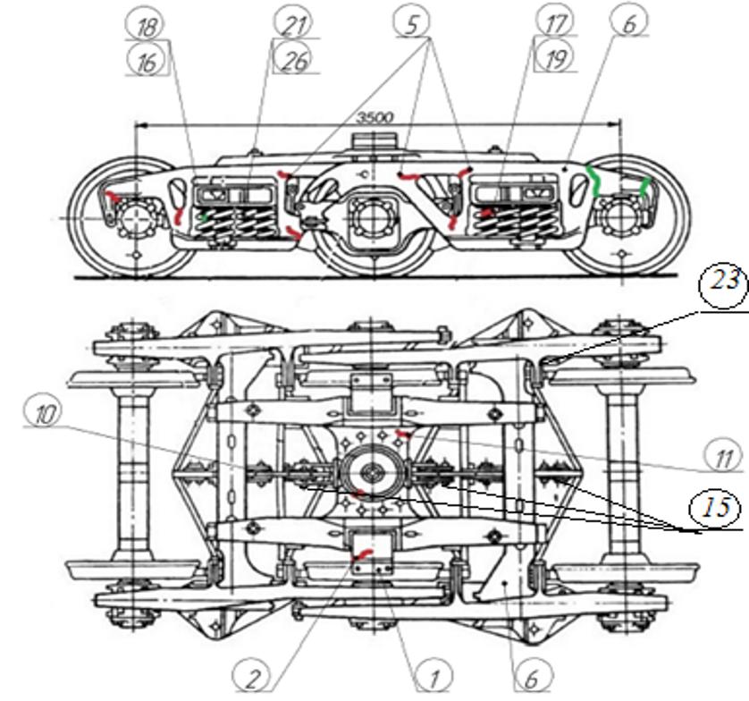 что относится к техническому обслуживанию железнодорожных транспортеров