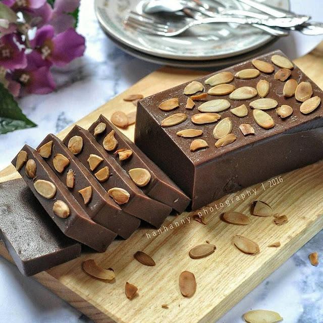 Resep dan cara membuat Puding brownies