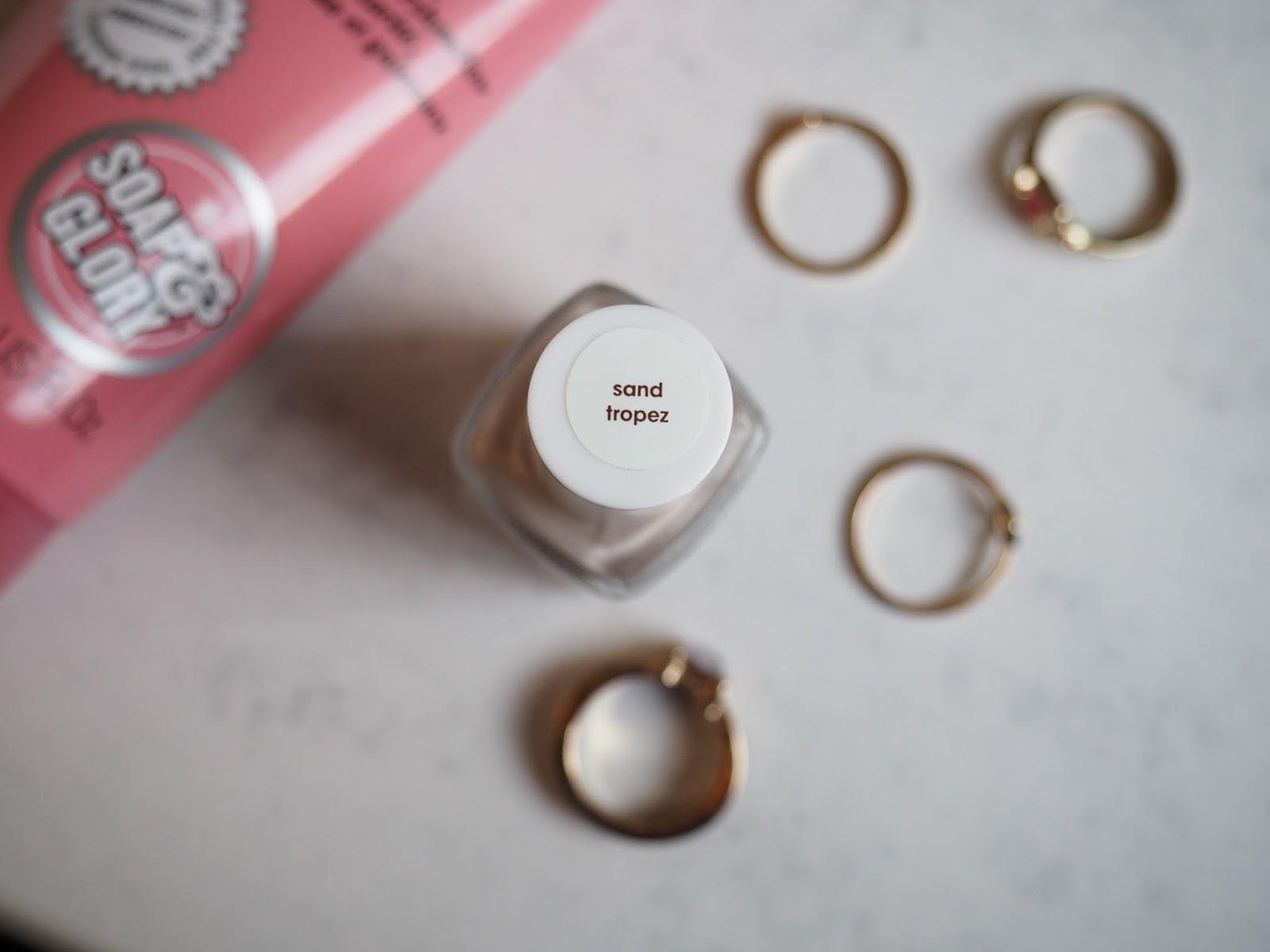 Essie nail polish sand tropez review