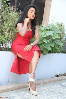 Mamatha sizzles in red Gown at Katrina Karina Madhyalo Kamal Haasan movie Launch event 047.JPG
