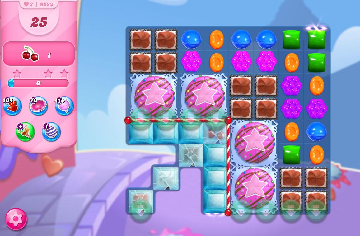 Candy Crush Saga level 5203