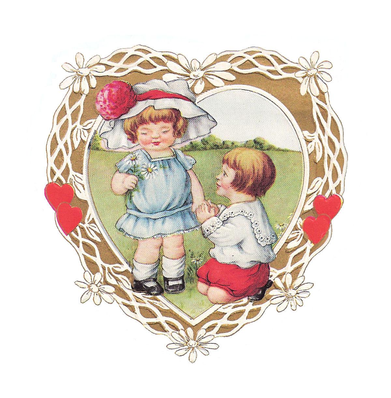 Antique Images: Free Valentine Clip Art: Vintage Valentine ...