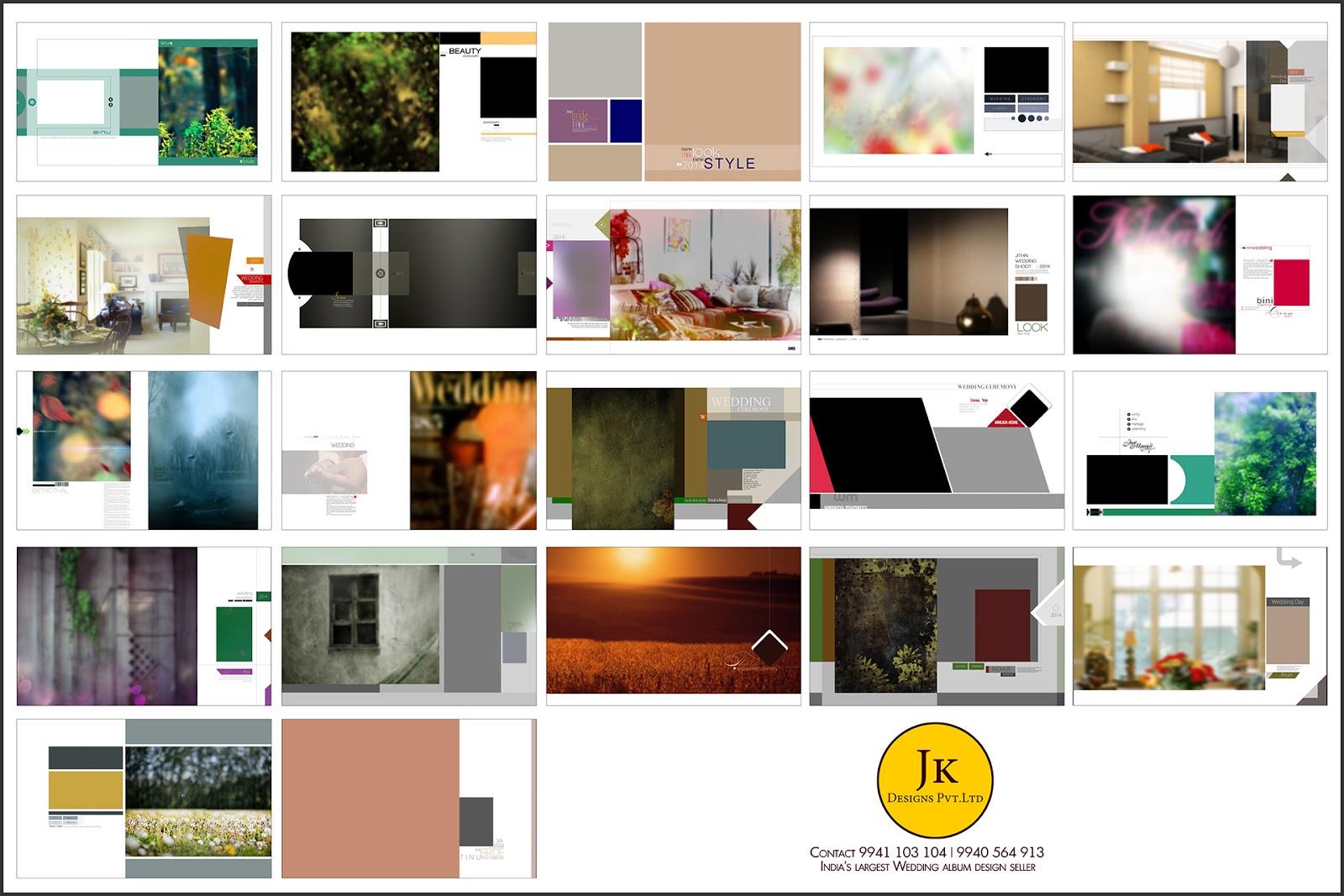 Jk Wedding Album Templates PSD Format For Sale in INDIA Super