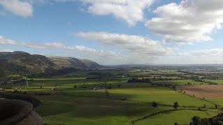 Skót panoráma a Wallace emlékműből, Stirling-ben