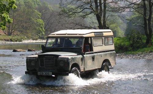 Land Rover seri III