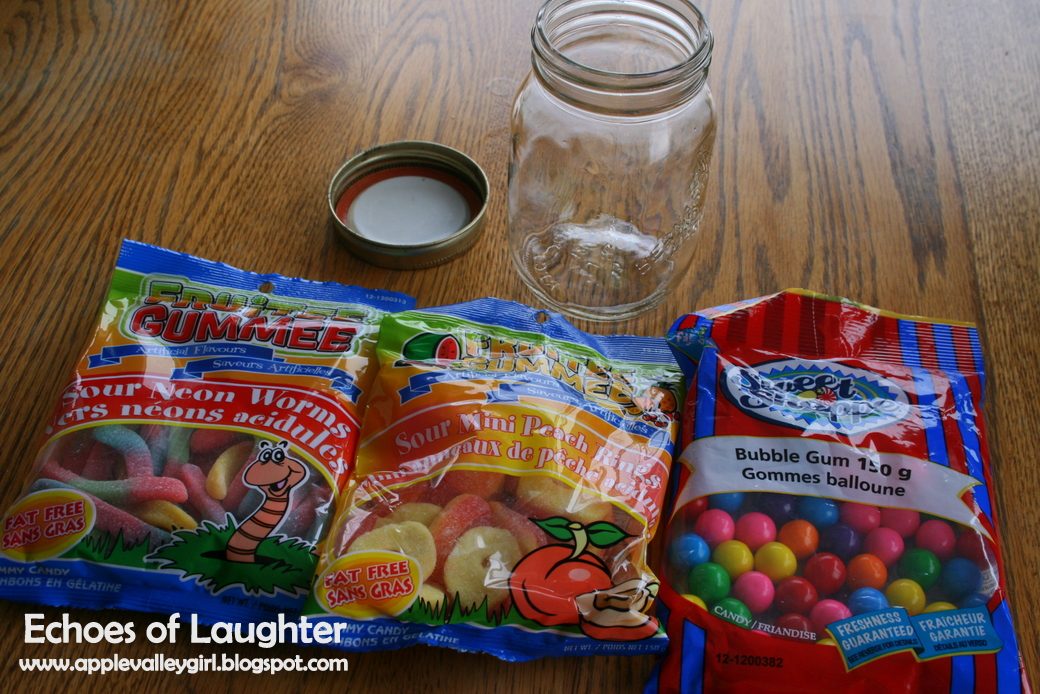Happy Birthday Candy Jar Echoes Of Laughter