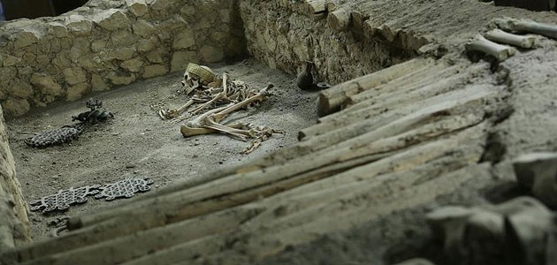 4,500-year-old male skeleton found in northern Turkey
