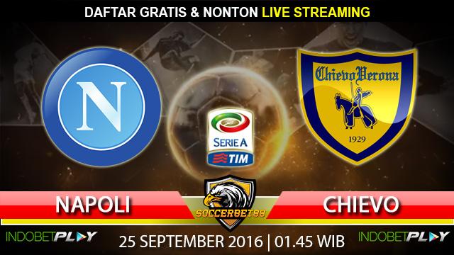 Prediksi Napoli vs Chievo 25 September 2016 (Liga Italia)