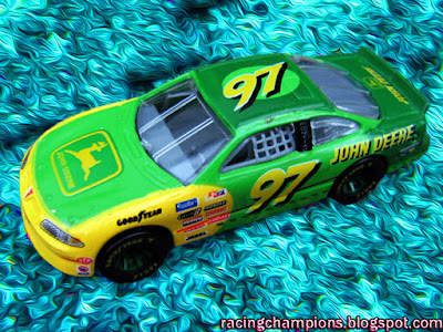 Chad Little #97 John Deere Racing Champions 1/64 NASCAR diecast blog Jack Roush