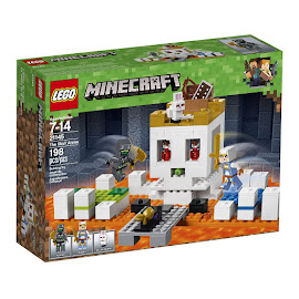 Minecraft The Skull Arena Lego Set