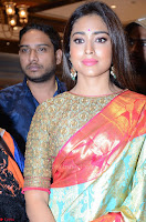 Shriya Saran Looks Stunning in Silk Saree at VRK Silk Showroom Launch Secundrabad ~  Exclusive 155.JPG