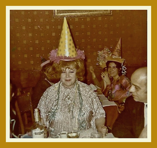 - A 2 martini Birthday Party circa 1960s