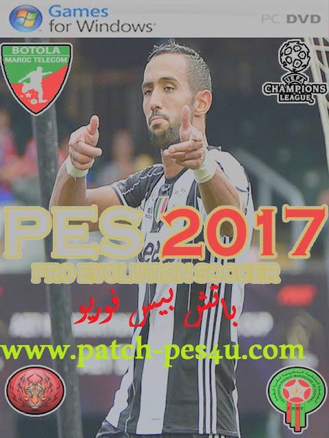 Pes 6 - Super Patch 2017 باتش البطولة المغربية   pes6