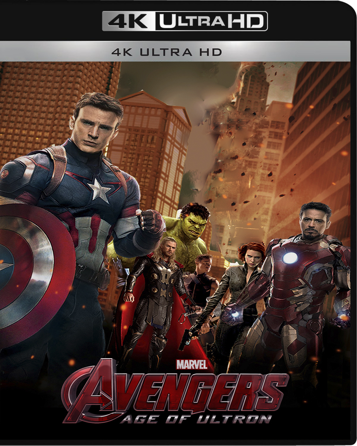 The Avengers: Age of Ultron [2015] [UHD] [2160p] [Latino]