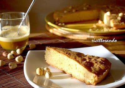 Torta di nocciole Piemonte ricetta di torta dolce a base di nocciole