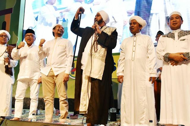 Lantunan Shalawat Iringi Launching Barito Putera