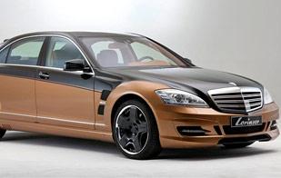a984bd525 كشفت شركة لورينسر المتخصصة في تعديل السيارات، عن أحدث إصداراتها، وهي عبارة  عن نسخة معدلة من مرسيدس S600 ، وتحمل اسم لورينسر S70.