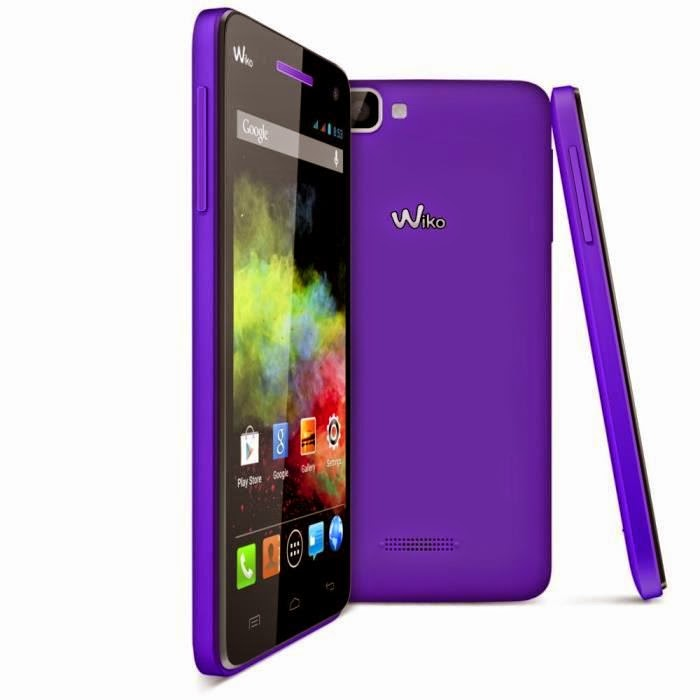 wiko rainbow violet smartphone wiko 5 pouces comparatif smartphones. Black Bedroom Furniture Sets. Home Design Ideas