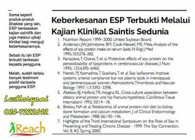 Keberkesanan ESP Yang Tak Perlu Di Ragui