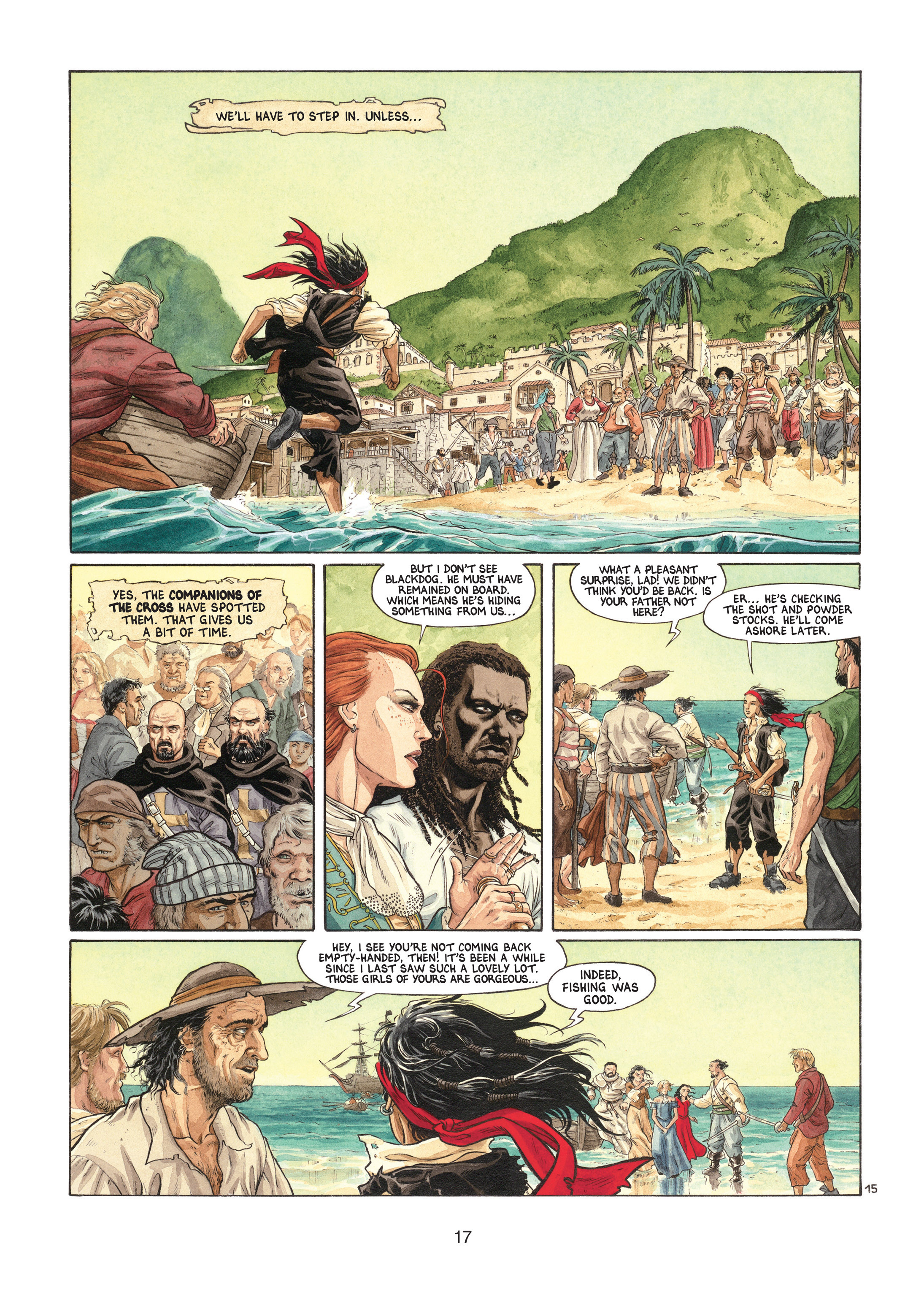 Read online Barracuda comic -  Issue #1 - 17