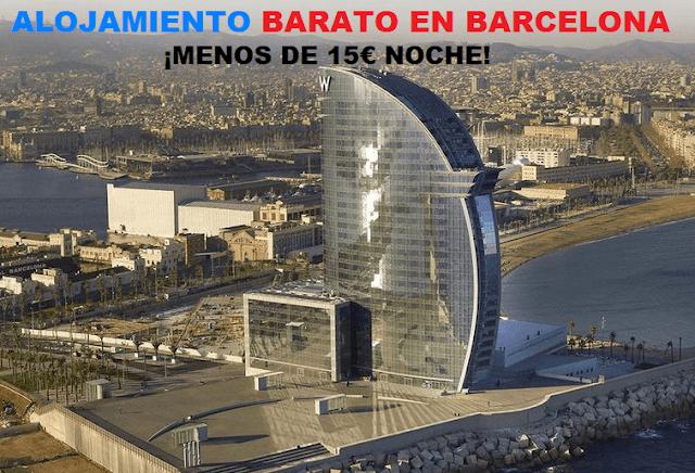 5 hostales baratos para alojarse en Barcelona