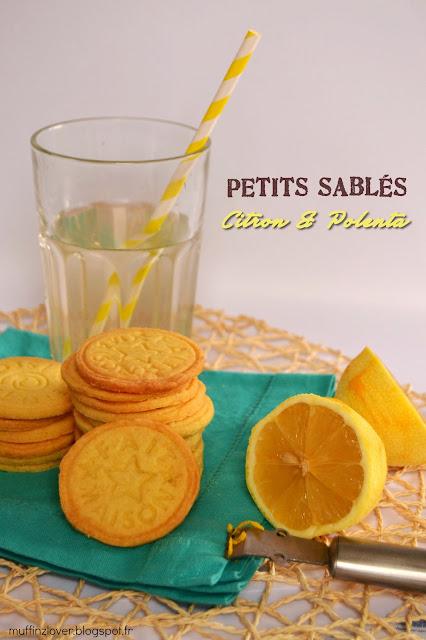 Recette Petits sablés Citron Polenta - muffinzlover.blogspot.fr
