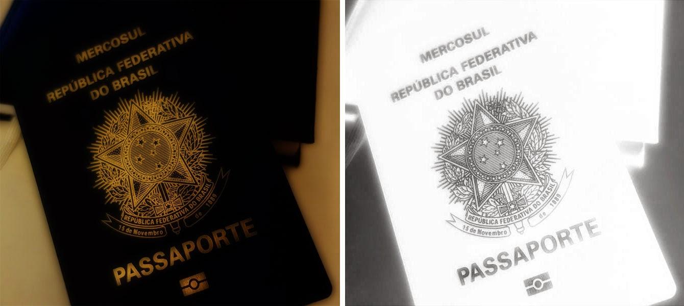 Imagem ilustrativa de passaporte