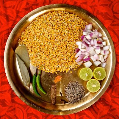 Nepali Rahar Dal curried pigeon peas easy vegetarian lentil recipe