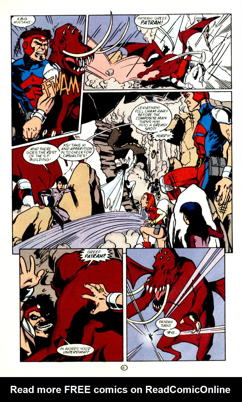Legion of Super-Heroes (1989) 69 Page 7