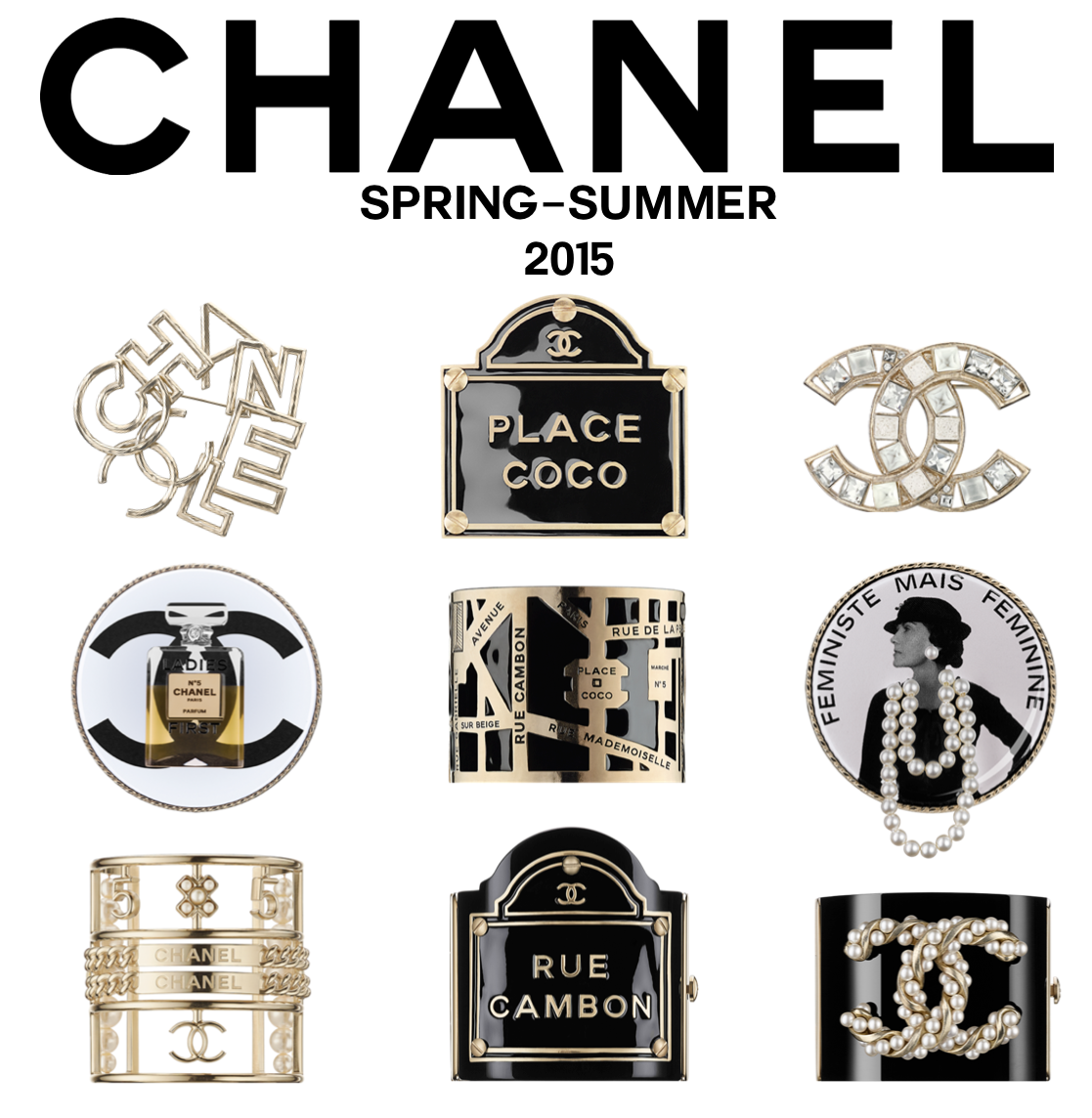 LOOKandLOVEwithLOLO: Chanel Spring-Summer 2015 Accessories