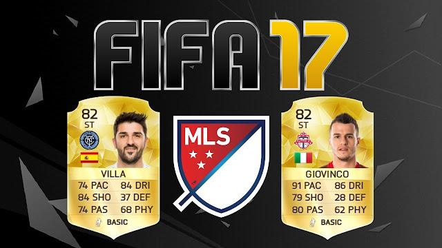 Os 10 melhores jogadores da MLS no FIFA 17
