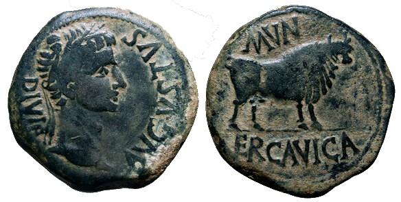 Monedas de la ciudad romana de Ercávica 006