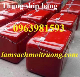 Cung cấp thùng giao hàng nhanh, thùng ship hàng, thùng chở hàng tốc hành giá rẻ
