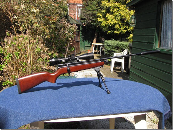 Archer on Airguns: An upgraded QB78 Air Rifle from The