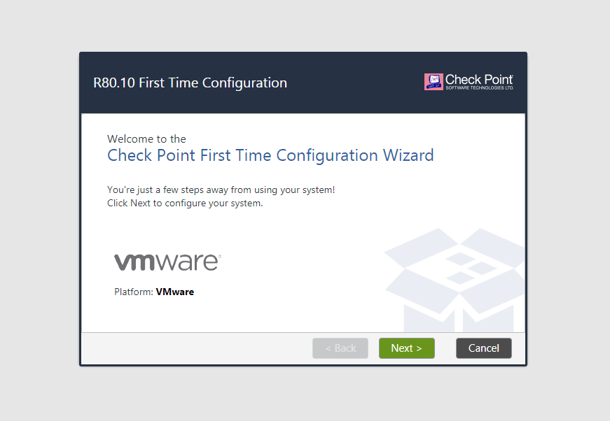 CheckPoint Firewall R80 Installation in VMware