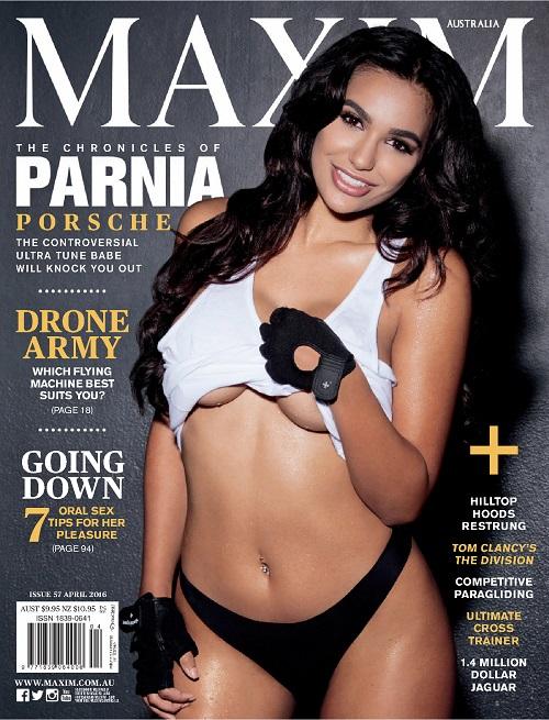 Parnia Porsche - Maxim (Australia) - April 2016